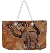 Year Of The Monkey Weekender Tote Bag