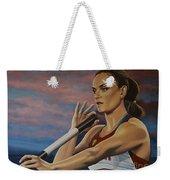 Yelena Isinbayeva   Weekender Tote Bag by Paul Meijering
