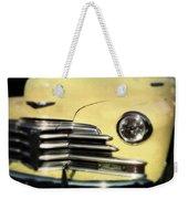 Yellow 47 Chevrolet Weekender Tote Bag