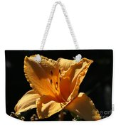 Yellow And Cream Day Lily Weekender Tote Bag