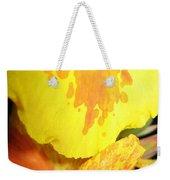 Yellow And Orange Petals Illuminated Weekender Tote Bag