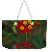 Yellow And Red Flowers Weekender Tote Bag