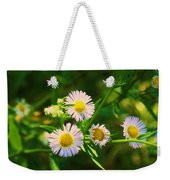 Yellow And White Dasies Weekender Tote Bag