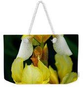 Yellow And White Irises Weekender Tote Bag