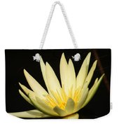 Yellow And Yellow Waterlily...   # Weekender Tote Bag