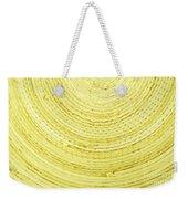 Yellow Arcs Weekender Tote Bag