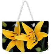 Yellow Beauties Weekender Tote Bag