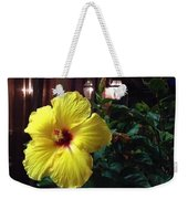 Yellow Beauty Weekender Tote Bag