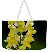 Yellow Beauty Weekender Tote Bag