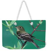 Yellow-bellied Flycatcher Weekender Tote Bag