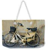 Yellow Bicycle In Copenhagen Weekender Tote Bag
