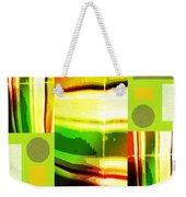 Yellow Bliss Weekender Tote Bag