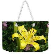 Yellow Blossom Weekender Tote Bag