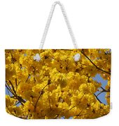 Yellow Blossoms Of A Tabebuia Tree Weekender Tote Bag