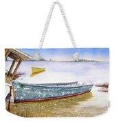 Yellow Boat II Weekender Tote Bag