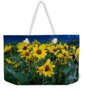 Yellow Bouquet Weekender Tote Bag