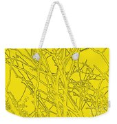 Yellow Branches Weekender Tote Bag