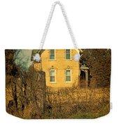 Yellow Brick Farmhouse Weekender Tote Bag