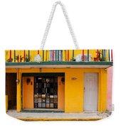 Yellow Buidling Mexico Weekender Tote Bag