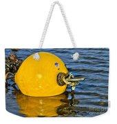 Yellow Buoy Weekender Tote Bag