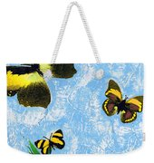 Yellow Butterflies - Spring Art By Sharon Cummings Weekender Tote Bag