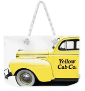 Yellow Cab Square Weekender Tote Bag