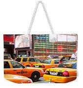 Yellow Cabs Weekender Tote Bag