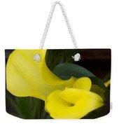 Yellow Cala Weekender Tote Bag