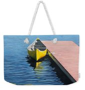 Yellow Canoe Weekender Tote Bag