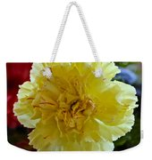 Yellow Carnation Delight Weekender Tote Bag