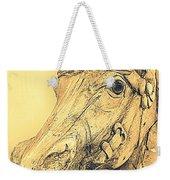 Yellow Carousel Horse Weekender Tote Bag