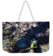 Yellow Chested Birdy Weekender Tote Bag