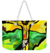 Yellow Christ  After Gauguin Weekender Tote Bag