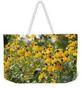Yellow Cone Flowers Weekender Tote Bag