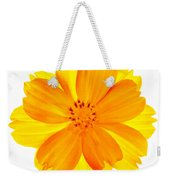 Yellow Cosmos Weekender Tote Bag