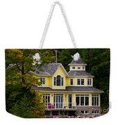 Yellow Cottage Weekender Tote Bag