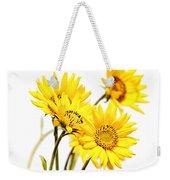 Yellow Country Wildflowers Weekender Tote Bag