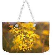 Yellow Countryside Weekender Tote Bag