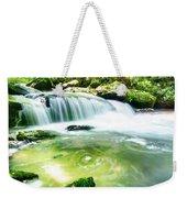 Yellow Creek Falls Great Smoky Mountains Weekender Tote Bag
