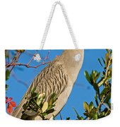 Yellow Crown Night Heron Weekender Tote Bag