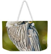 Yellow Crowned Night Heron Weekender Tote Bag