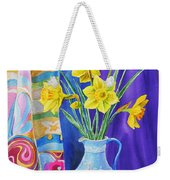 Yellow Daffodils Weekender Tote Bag