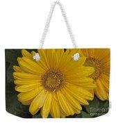 Yellow Daisy Weekender Tote Bag