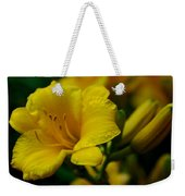 One Day Lily  Weekender Tote Bag