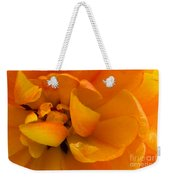 Yellow Double Tulip Weekender Tote Bag
