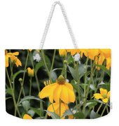 Yellow Echinacea Weekender Tote Bag