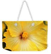 Yellow Fantasy Hibiscus Flowers Weekender Tote Bag