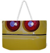 Yellow Ferrari Tail Lights Weekender Tote Bag