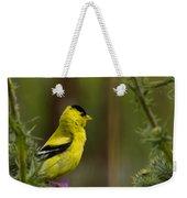 Yellow Finch  Weekender Tote Bag