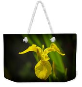 Yellow Flag Flower Outdoors Weekender Tote Bag
